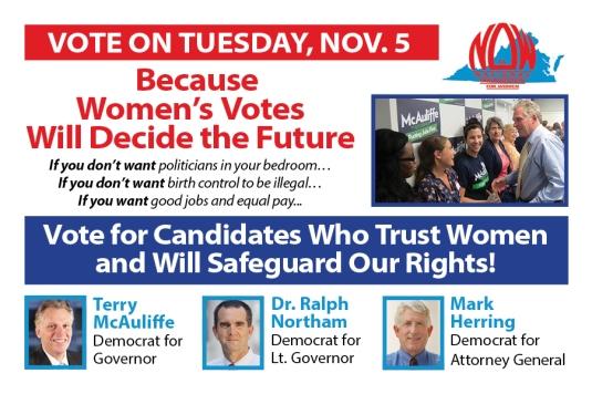 VA NOW's Postcard Campaign Will Reach 25,000 Women!